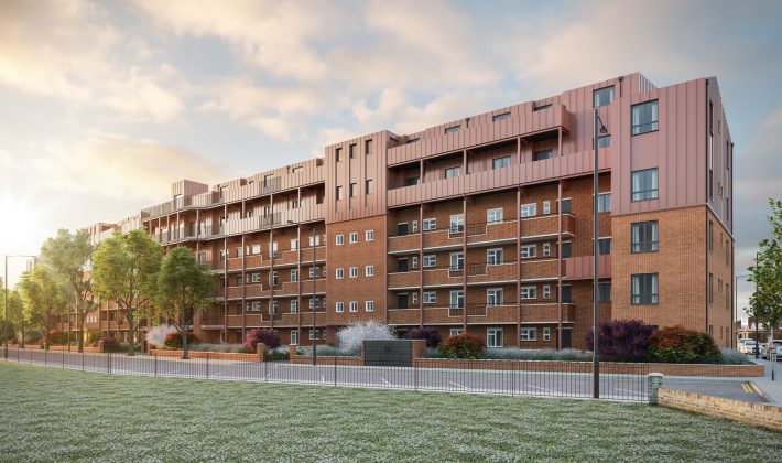 Our scheme in Bermondsey recommended for planning approval in partnership with Lambeth & Southwark Housing Association (LSHA)